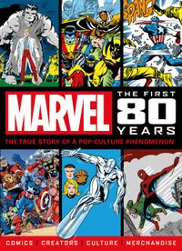 [Image for Marvel Comics: The First 80 Yers]