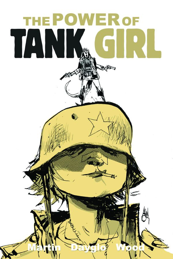 [Cover Art image for Tank Girl : The Power Of Tank Girl]