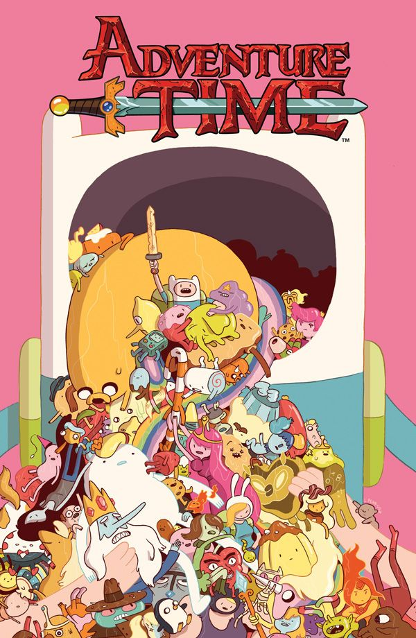 [Cover Art image for Adventure Time Vol. 6]