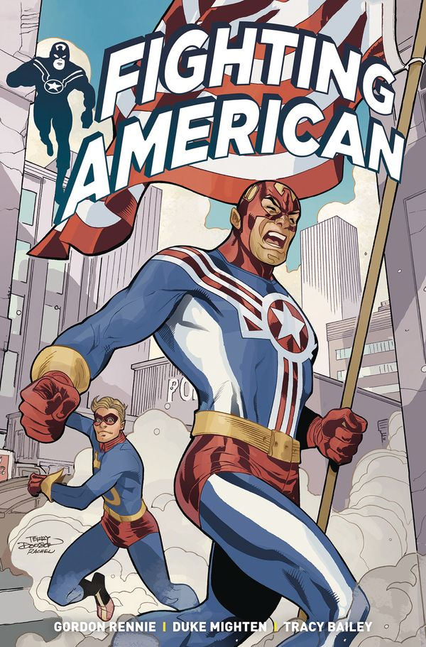 [Cover Art image for Fighting American Vol. 1]