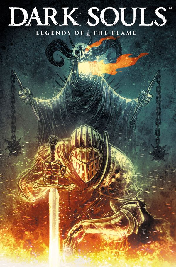 [Cover Art image for Dark Souls: Legends of the Flame]