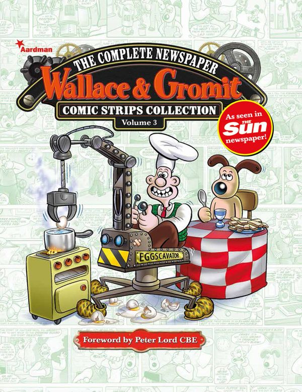 [Cover Art image for Wallace & Gromit: The Complete Newspaper Strips Collection Vol. 3]