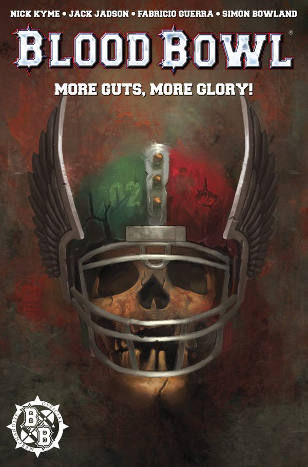 [Cover Art image for Warhammer Blood Bowl]