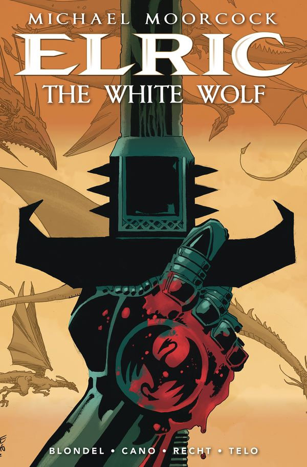 [Cover Art image for Elric: The White Wolf]