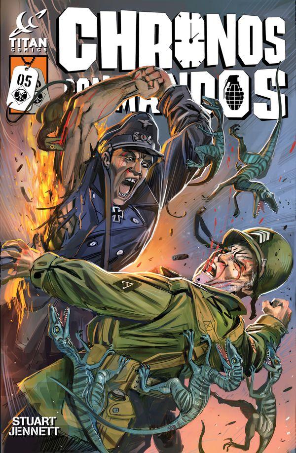 [Cover Art image for Chronos Commandos: Dawn Patrol]