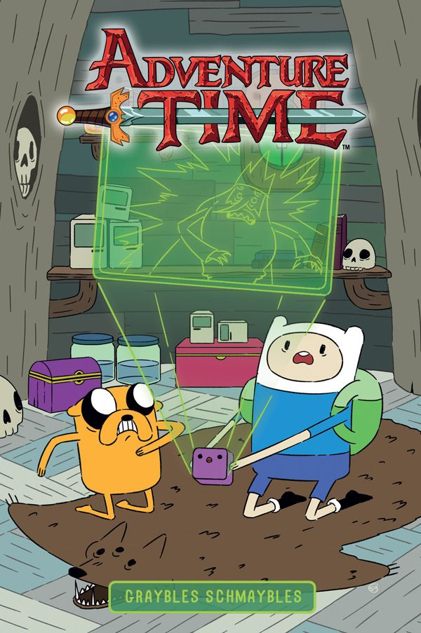 [Cover Art image for Adventure Time: Graybles Schmaybles]