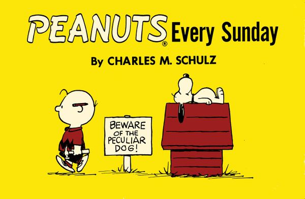 [Cover Art image for Peanuts: Every Sunday]