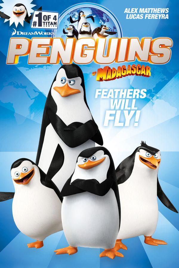 [Cover Art image for Penguins of Madagascar]
