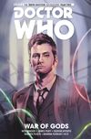 [The cover image for Doctor Who: The Tenth Doctor Vol. 7: War of Gods]