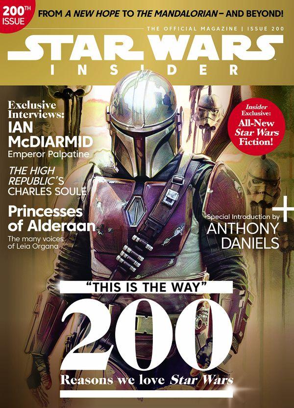 [Cover Art image for Star Wars Insider #200]