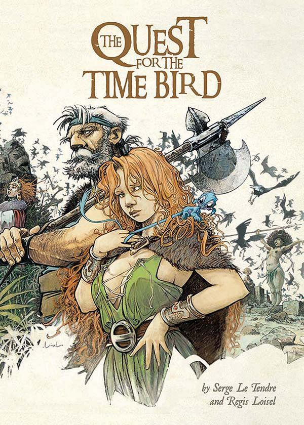 [Cover Art image for The Quest for the Time Bird]
