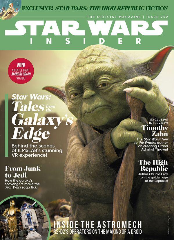 [Cover Art image for Star Wars Insider #202]