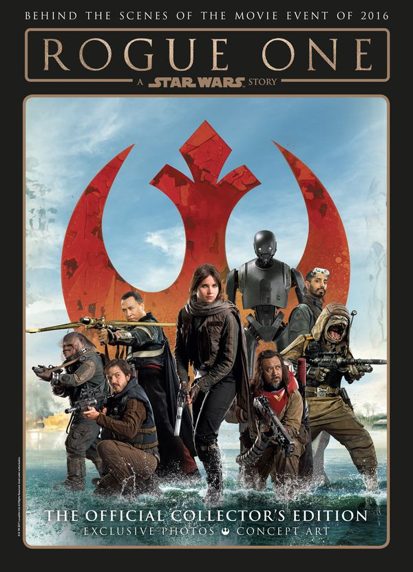 [Cover Art image for Star Wars: Rogue One: A Star Wars Story The Official Collector's Edition]