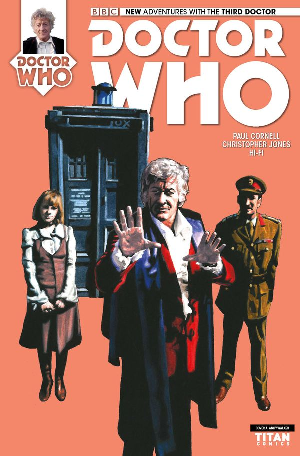 [Cover Art image for Doctor Who: The Third Doctor Miniseries]
