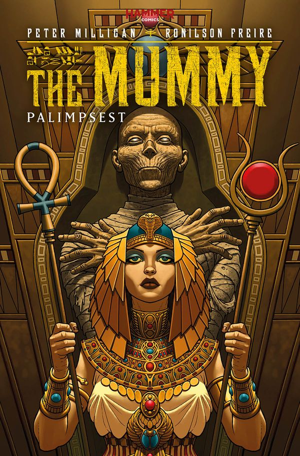 [Cover Art image for The Mummy]