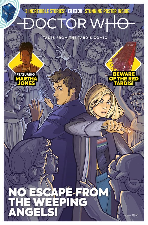 [Cover Art image for Doctor Who: Tales from the Tardis #3.3]