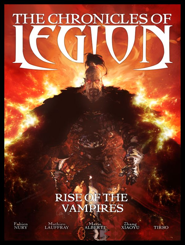 [Cover Art image for The Chronicles of Legion Vol. 1: Rise of the Vampires]