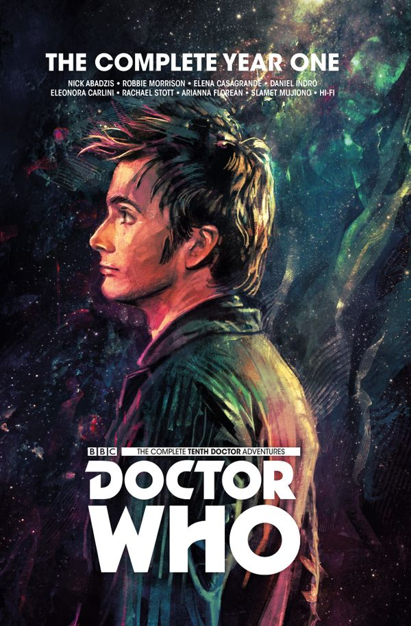 [Cover Art image for Doctor Who: The Tenth Doctor Complete Year One]