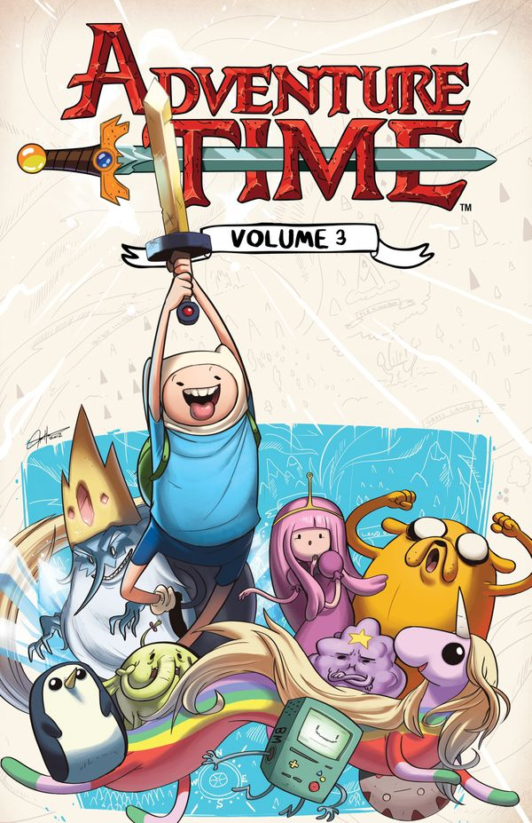 [Cover Art image for Adventure Time Vol. 3]
