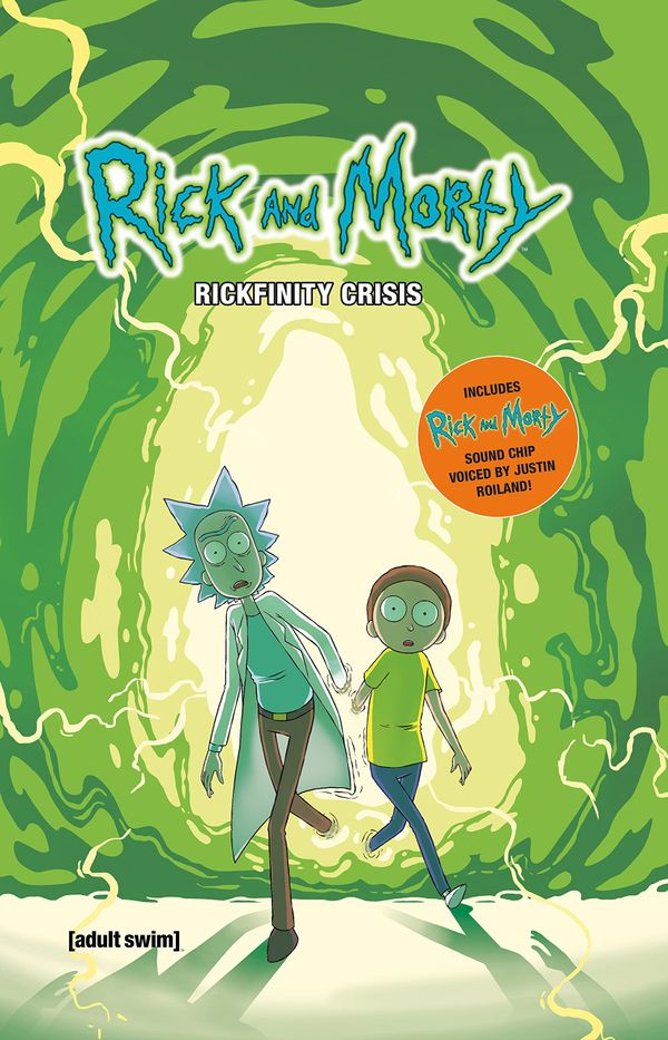 [Cover Art image for Rick and Morty: Rickfinity Crisis]
