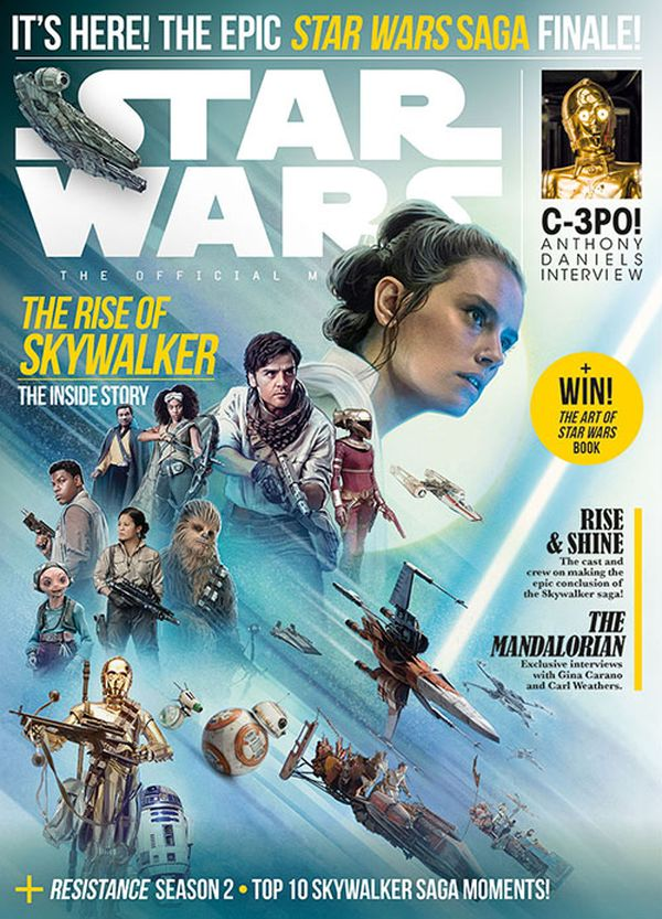 [Cover Art image for Star Wars Insider #194]