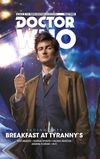 [The cover image for Doctor Who: The Tenth Doctor: Facing Fate - Volume 1: Breakfast at Tyranny's]