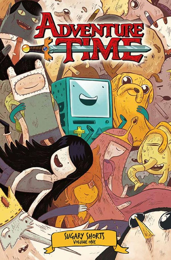 [Cover Art image for Adventure Time: Sugary Shorts Vol. 1]