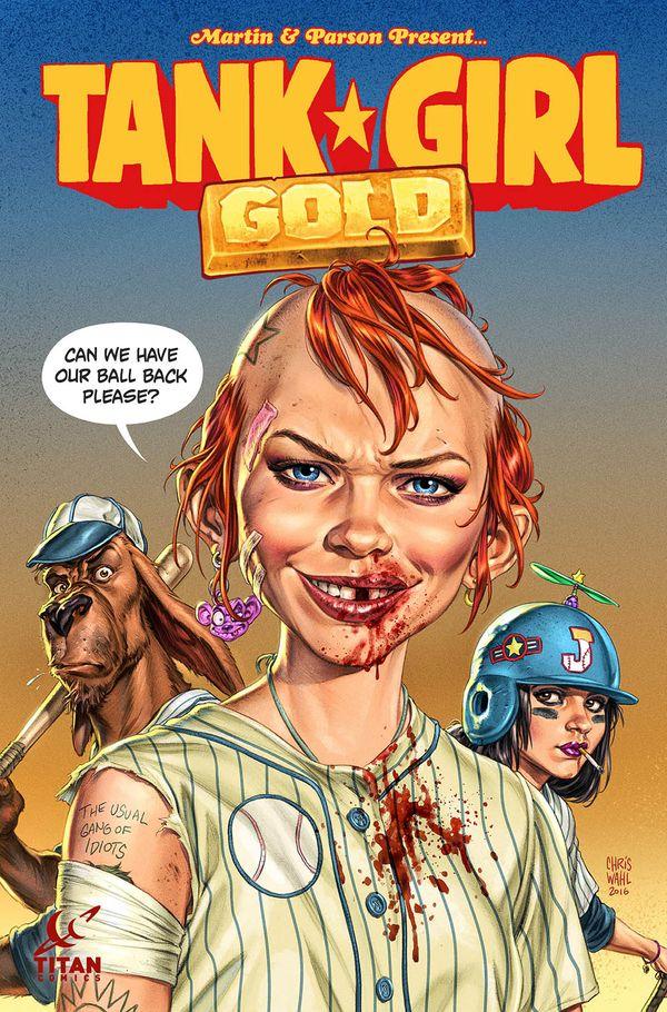 [Cover Art image for Tank Girl: Gold]