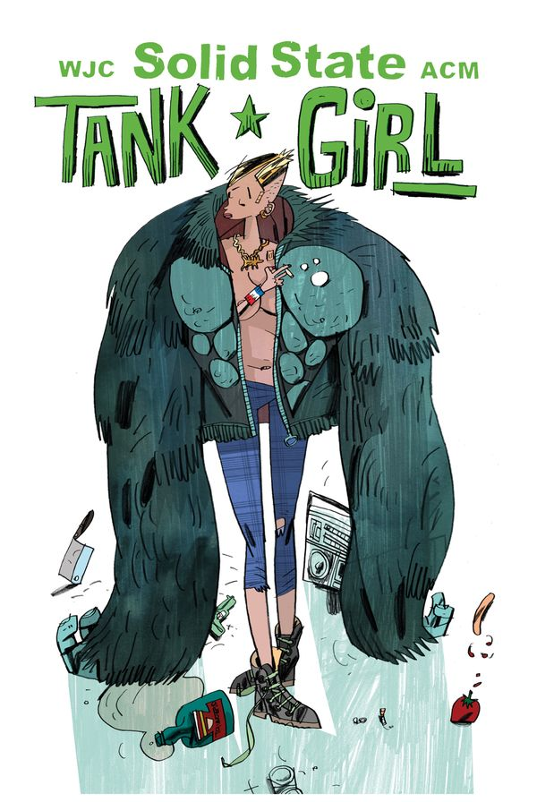 [Cover Art image for Tank Girl: Solid State Tank Girl]