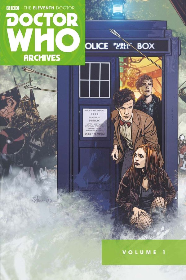 [Cover Art image for Doctor Who Archives: The Eleventh Doctor Vol. 1]