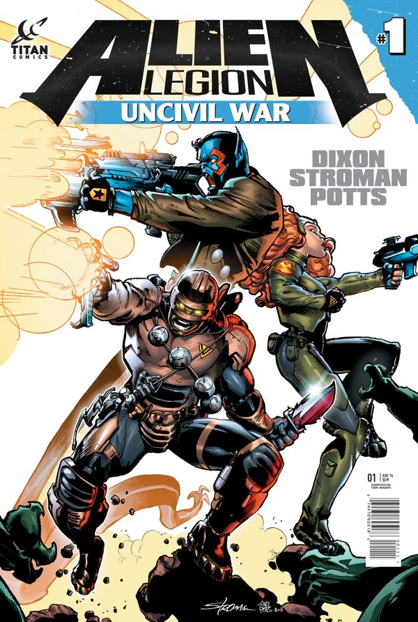 [Cover Art image for Alien Legion: Uncivil War]
