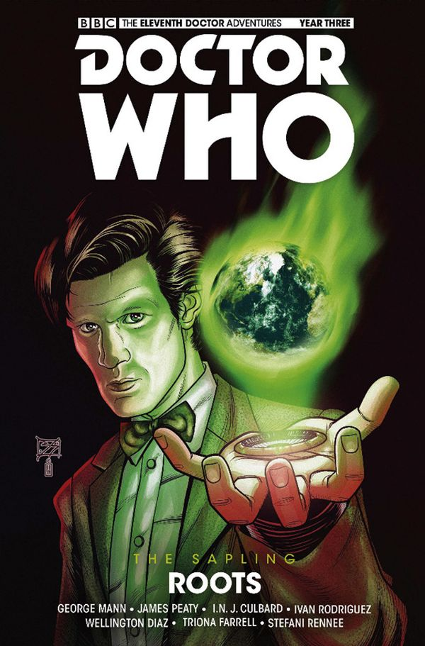 [Cover Art image for Doctor Who: The Eleventh Doctor: The Sapling Vol. 2: Roots]