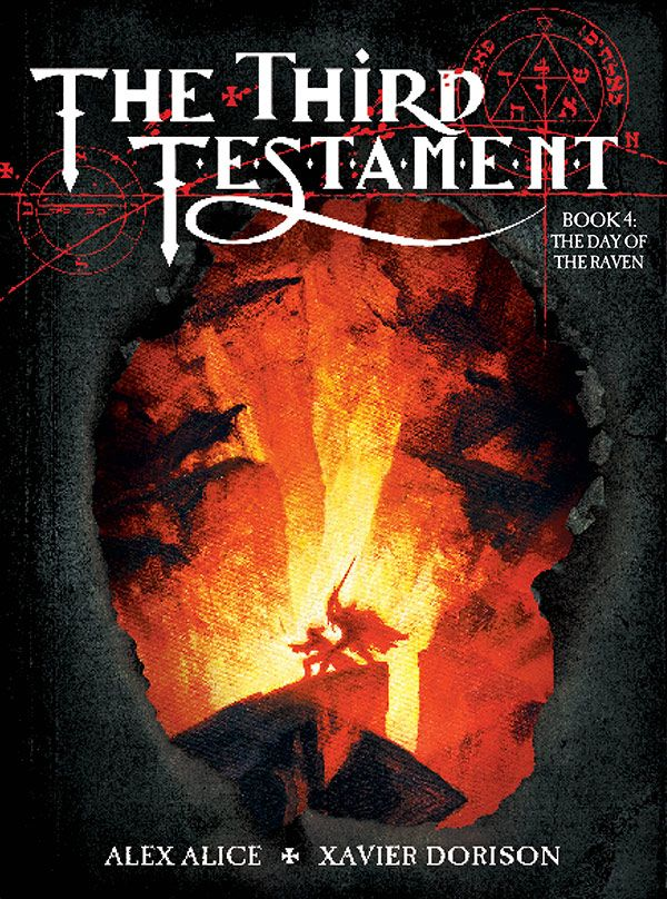 [Cover Art image for The Third Testament Vol. 4: The Day of the Raven]