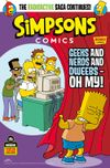 [The cover image for Simpsons Comics #43]