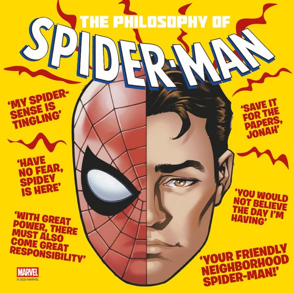 [Cover Art image for Marvel's The Philosophy of Spider-Man]