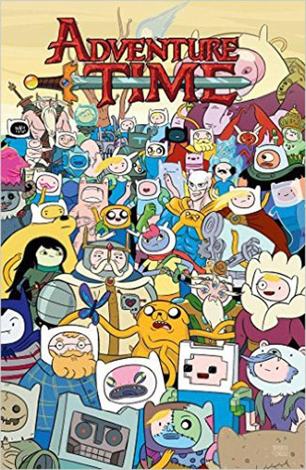 [Cover Art image for Adventure Time Vol. 11]