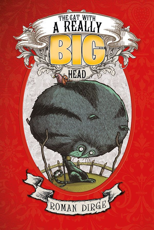 [Cover Art image for The Cat With a Really Big Head]