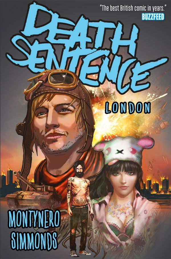 [Cover Art image for Death Sentence Vol. 2: London]