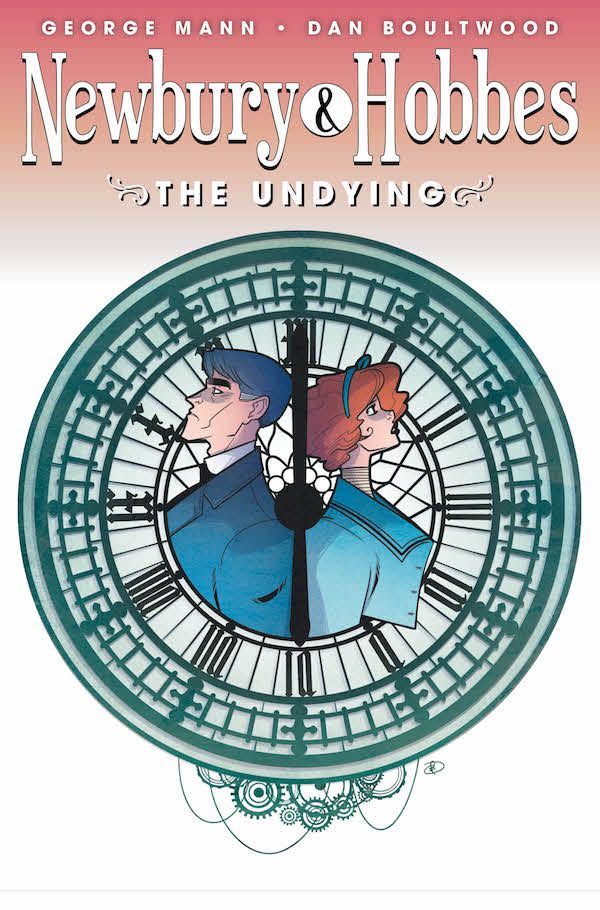 [Cover Art image for Newbury & Hobbes: The Undying]