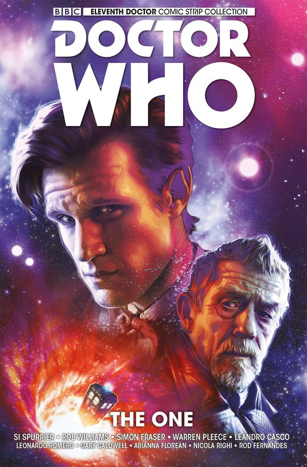 [Cover Art image for Doctor Who: The Eleventh Doctor Vol. 5: The One]