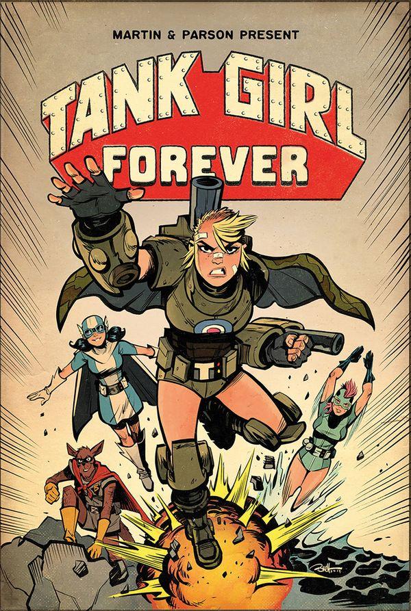 [Cover Art image for Tank Girl Vol. 2: Tank Girl Forever]