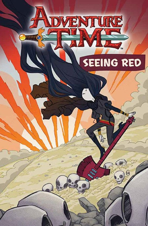 [Cover Art image for Adventure Time: Seeing Red]