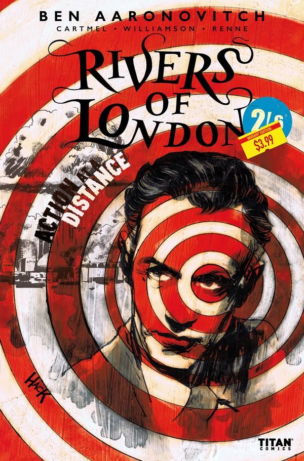 [Cover Art image for Rivers Of London: Action at a distance]