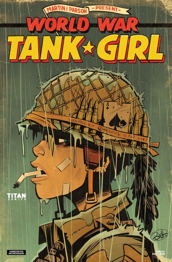 [Cover Art image for Tank Girl: World War Tank Girl]