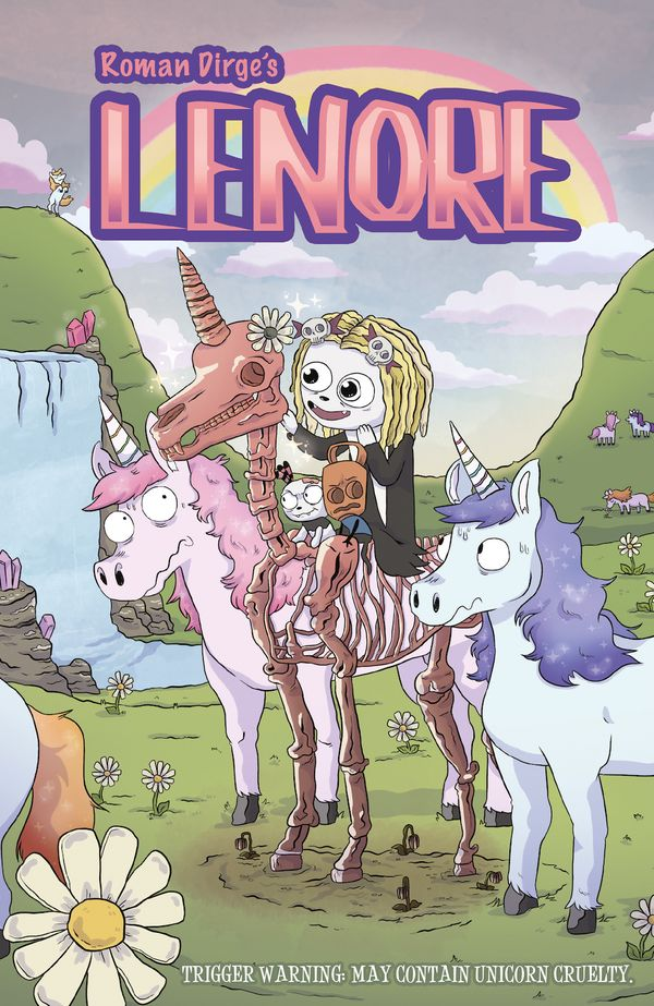 [Cover Art image for Lenore]