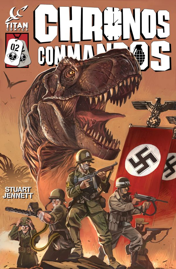 [Cover Art image for Chronos Commandos: Dawn Patrol]