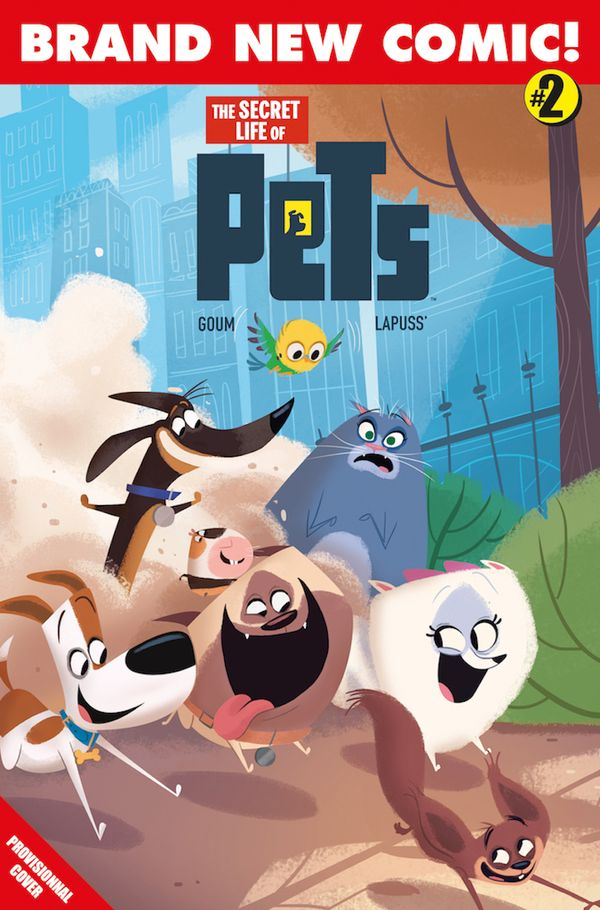 [Cover Art image for The Secret Life Of Pets]