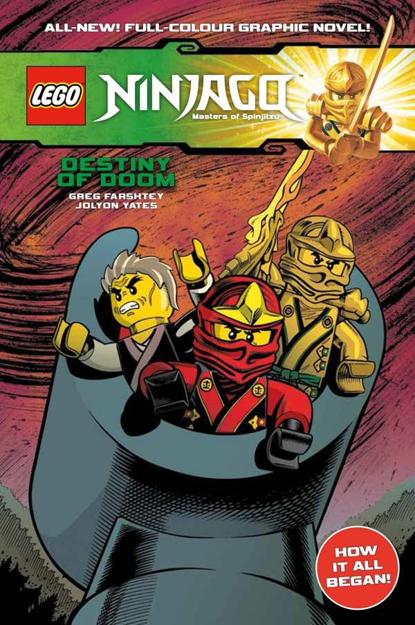 [Cover Art image for Lego Ninjago: Destiny of Doom]