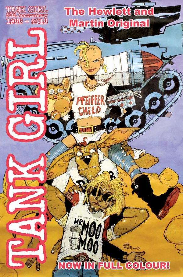 [Cover Art image for Tank Girl: Full Color Classics]