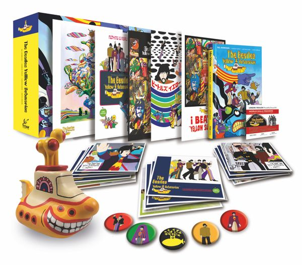 [Cover Art image for The Beatles Yellow Submarine: Limited Edition Box Set]